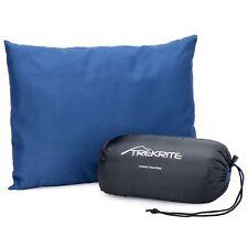 Trekrite Camping & Travel Pillow Headrest Cushion Neck Support - Blue