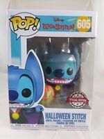 Disney Funko Pop - Halloween Stitch - Lilo & Stitch - No. 605