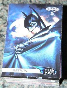 Batman Forever Fleer 1995 120 card Complete Set (not ultra)