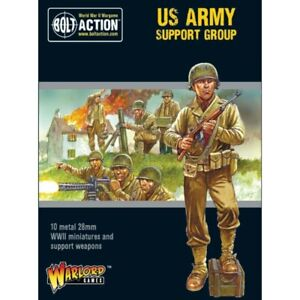 Bolt Action US Army Support Group (HQ, Mortar and MMG)