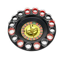 Shot Glass Roulette - Drinking Game Set (2 Balls and 16 Glasses) 16PCS Set