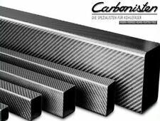 CFK-Vierkantrohr 26,2 x 26,2 - 20 x 20 - 1000 mm Carbon-Vierkantrohr Kohlefaser