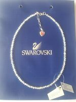 Sparkly Necklace Crystal AB Made With SWAROVSKI ELEMENTS & STERLING SILVER