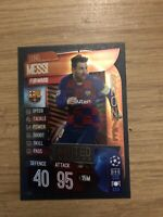 MATCH ATTAX 2019/20 LIONEL MESSI BRONZE LIMITED EDITION LE5B MINT