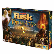 LORD OF THE RINGS RISK BOARD GAME SPECIAL EDITION BATTLE FOR MIDDLE EARTH / 10+