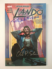 Star Wars Lando TPB GN Collects #1-5 x2 Signed Billy Dee Williams, Soule PSA NM