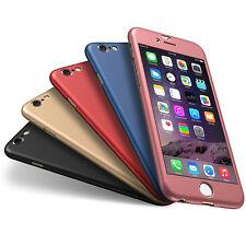 pour Apple iPhone 6 6S 7 Plus Ultra Fin 360° Coque Fin Rigide