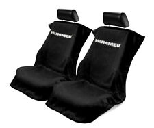 Seat Armour Universal Black Towel Front Seat Covers for Hummer -Pair