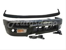 99-02 4RUNNER FRONT BUMPER BLK FILLER VALANCE ARM BRACKET SIGNAL W/FLARE HOLE