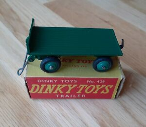 Dinky Toys Trailer #429 Green colour in plain box