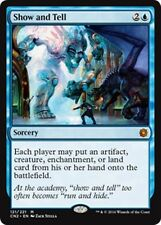 SHOW AND TELL Conspiracy: Take the Crown MTG Blue Sorcery Mythic Rare