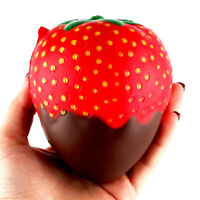 Cute Squishy Chocolate Strawberry Duft Slow Rising Squeeze Spielzeug Stressabbau