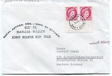 1963 Royal Astron. Soc. Univ. Ottawa Nahani Valley Eclipse Polar Antarctic Cover