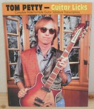 SPARTITO TABLATURE TOM PETTY Guitar licks (Creative Concept 90 USA) guitar tab
