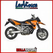 8585E MARMITTE LEOVINCE KTM 950 SM SUPERMOTO 2007- LV ONE EVO CARBONIO/CARBONIO