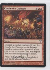2006 Magic: The Gathering - Dissension #50 Kindle the Carnage Magic Card 0b9