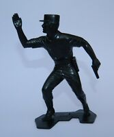 VINTAGE RARE MAN FROM U.N.C.L.E. THRUSH AGENT No.2 FIGURE MARX 1966 BLACK COLOR