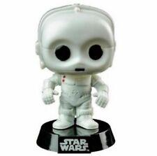 """Figura De Star Wars-K3-P0 Funko Pop Vinilo Bobble Head 55"""" Blanco!"""