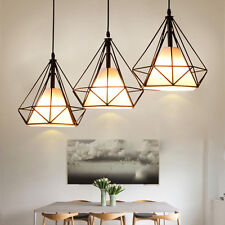 3X 5W Led Hängeleuchte Deckenlampe Vintage Hängelampe Pendelleuchte Esszimmer DE