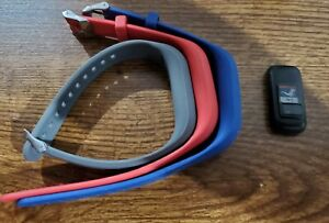 Garmin Vivofit Jr With 3 Bands Red, Blue and Gray - fitness tracker - watch