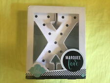 New-Marquee Love, Led-lighted letter kit, large letter X uses 2 Aaa batteries
