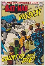 Brave and Bold #88 Featuring Batman & Wildcat, Very Fine Condition*