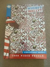 Where's Wally Christmas Party 1,000 piece jigsaw, 2017 issue SEALED