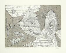 GOETZ Henri, Senza titolo. Carborundum acquaforte. Esemplare 7/25. Cm 24,5x32,5