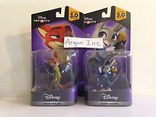 NEW Disney Infinity 3.0 Zootopia figures Judy Hopps & Nick Wilde Wii U PS3 Xbox