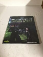 Shadowrun Corporate Intrigue Campaign Book Roleplaying Game RPG 26451