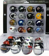 NFL MICRO HELMET TRACKER SET ALL 32 AFC AND NFC TEAMS WITH 2 STANDINGS BOARDS