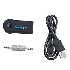 3.5mm Aux Stereo Wireless Mini Bluetooth Music Audio Stereo Adapter Receiver GE