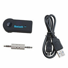 3.5mm Aux Stereo Wireless Mini Bluetooth Music Audio Stereo Adapter Receiver+New