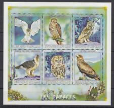Mali - Michel-Nr. 2398-2403 postfrisch/** als Kleinbogen (Vögel / Birds)