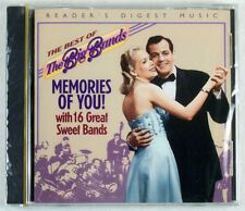 READER'S DIGEST MUSIC MEMORIES OF YOU NEW CD BIG BAND