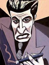 THE SOPRANOS CIGAR PRINT poster steve van zandt silvio dante hbo series mafia