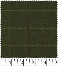 Shadow Play  Woolies - Flannel - Green Plaid F1879-G