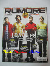Rivista RUMORE 191/2007 Battles Burial Yakuza Escape Plan Dubstep Gorilla NO cd