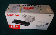 Canon FX4 (1558A003) Black Toner Cartridge, Genuine, New