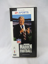 John Madden Football 3DO Game by EA Sports ~Vintage 3DO~ With Long Box Complete