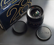 CONTAX ZEISS DISTAGON 2.8 28 mm mm-Version NEUF/Comme neuf NEUF dans sa boîte NR 8835083