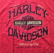 Harley Davidson Ride Free Sleeveless red Shirt Nwt Men's XL