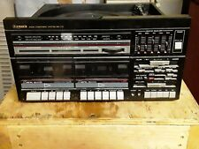 VINTAGE Fisher Audio Component System MC-713 turn table radio dual cassette