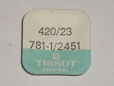 Tissot 781-1 782-1 784-2 2451 2461 2481 2531 2541 2551 2571 crown wheel 420 423