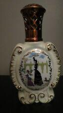 ANCIENNE LAMPE BERGER PORCELAINE limoges decor Noel DUM