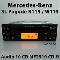 Original Mercedes Audio 10 CD MF2910 CD-R R113 Radio SL-Klasse Pagode Autoradio