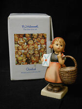 GERMANY M.I. HUMMEL MEDITATION COLLECTOR FIGURINE, 13/2/0 TMK 7 ORIGINAL BOX **