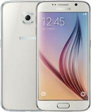 Samsung Galaxy S6 Blanco SM-G920F - 4G 32GB teléfono inteligente/Desbloqueado/16MP