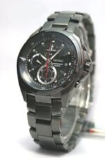 Seiko Criteria Chronograph Black Stainless Steel Men's Watch SNDB25P1