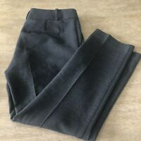 Women's Ann Taylor Devin Fit Dress Pants Bootcut Stretch Career Gray Size 4
